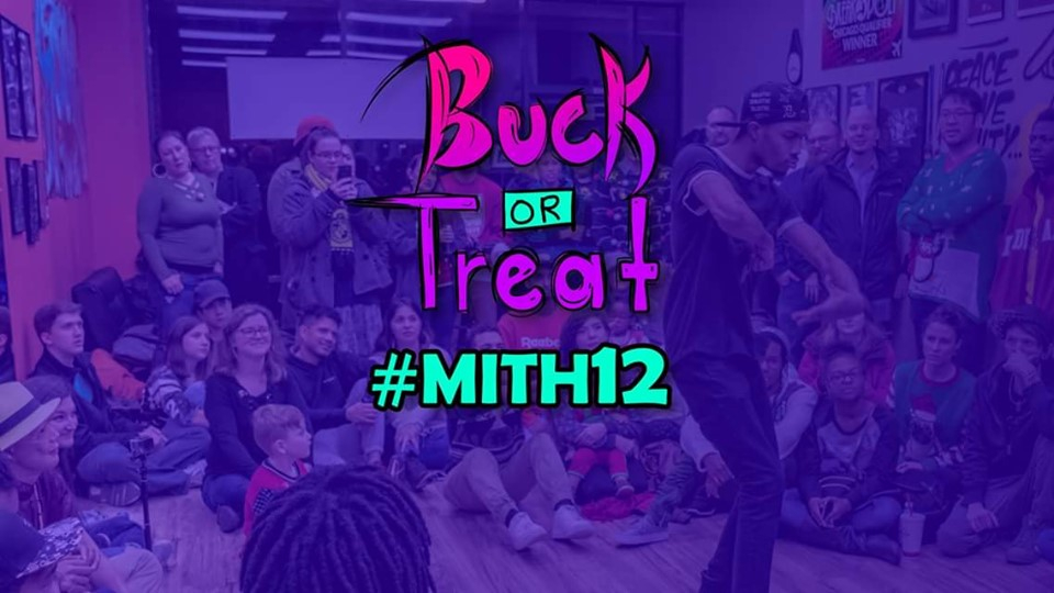 MITH 12 Buck or Treat 2019 poster
