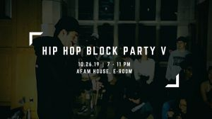 Yale Hip Hop Block Party V: 2v2 All Styles Battles 2019