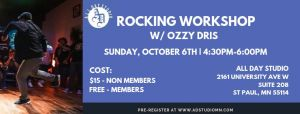 Rocking Workshop w Ozzy 2019