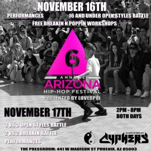 Dance Stage : 6th Annual AZ Hip Hop Festival 2019