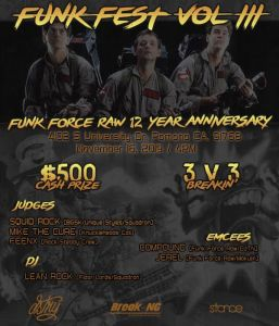 Funk Fest Vol. 3: Funk Force Raw 12 Year Anniversary 2019