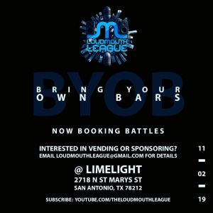 LML presents Bring Your Own Bars 2019
