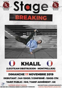 Stage Breaking - Khalil 2019