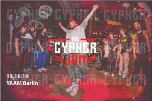 The Cypher JAM - All STYLEs Party w/Live Band 2019