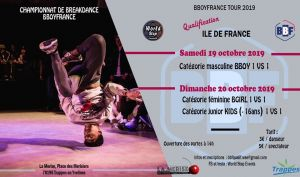 Battle B-Boy & B-Girl BBF Tour 2019