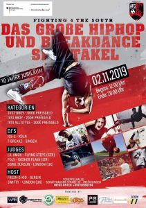 Breakdance & Hip Hop Battle: F4ts 10 jähriges Jubiläum 2019