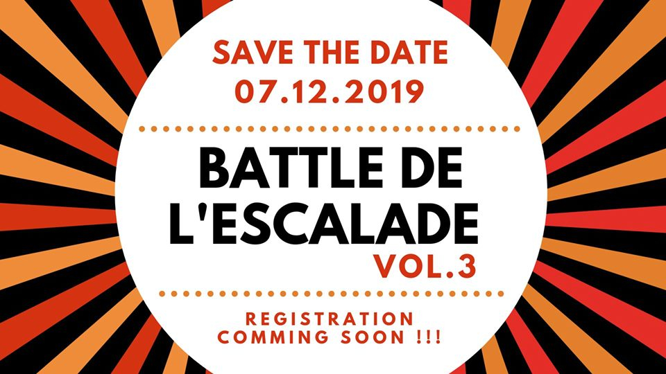 Battle de l'escalade 2019 poster