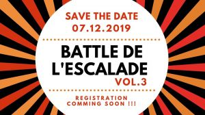Battle de l'escalade 2019