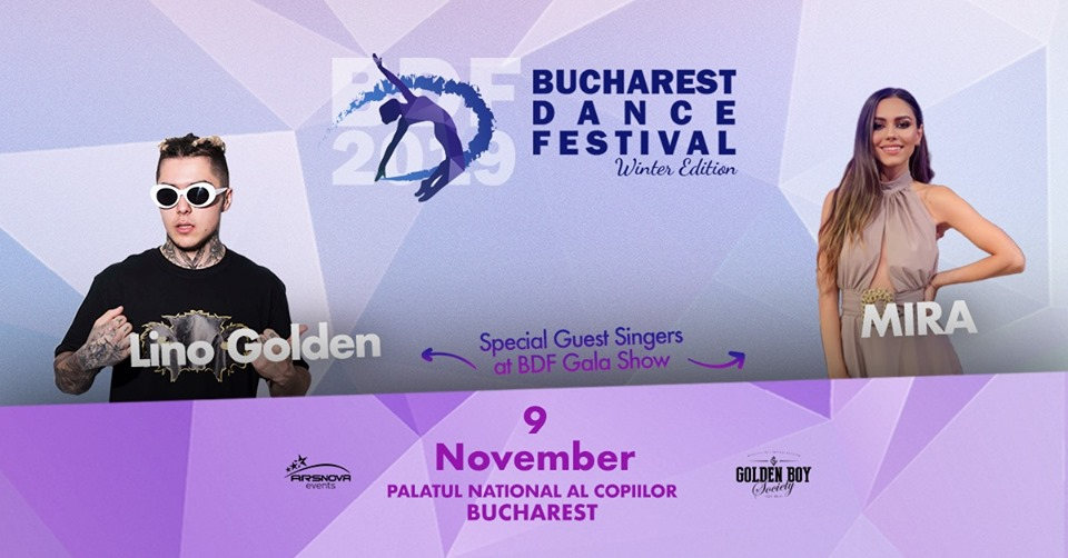 Bucharest Dance Festival 2019 poster