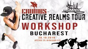 Crumbs Workshop Bucharest 2019