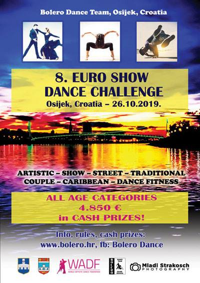 Euro Show Dance 2019 poster