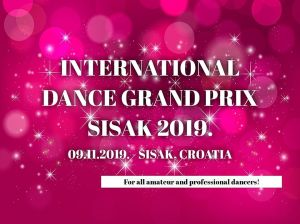 International Dance Grand Prix Sisak 2019