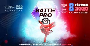 Battle Pro « Qualification France » 2019