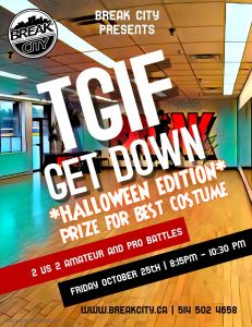 TGIF Get Down - Halloween Edition 2019