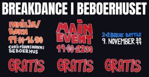 Breakdance i Beboerhuset 2019