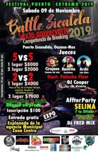 Battle Zicatela 2019